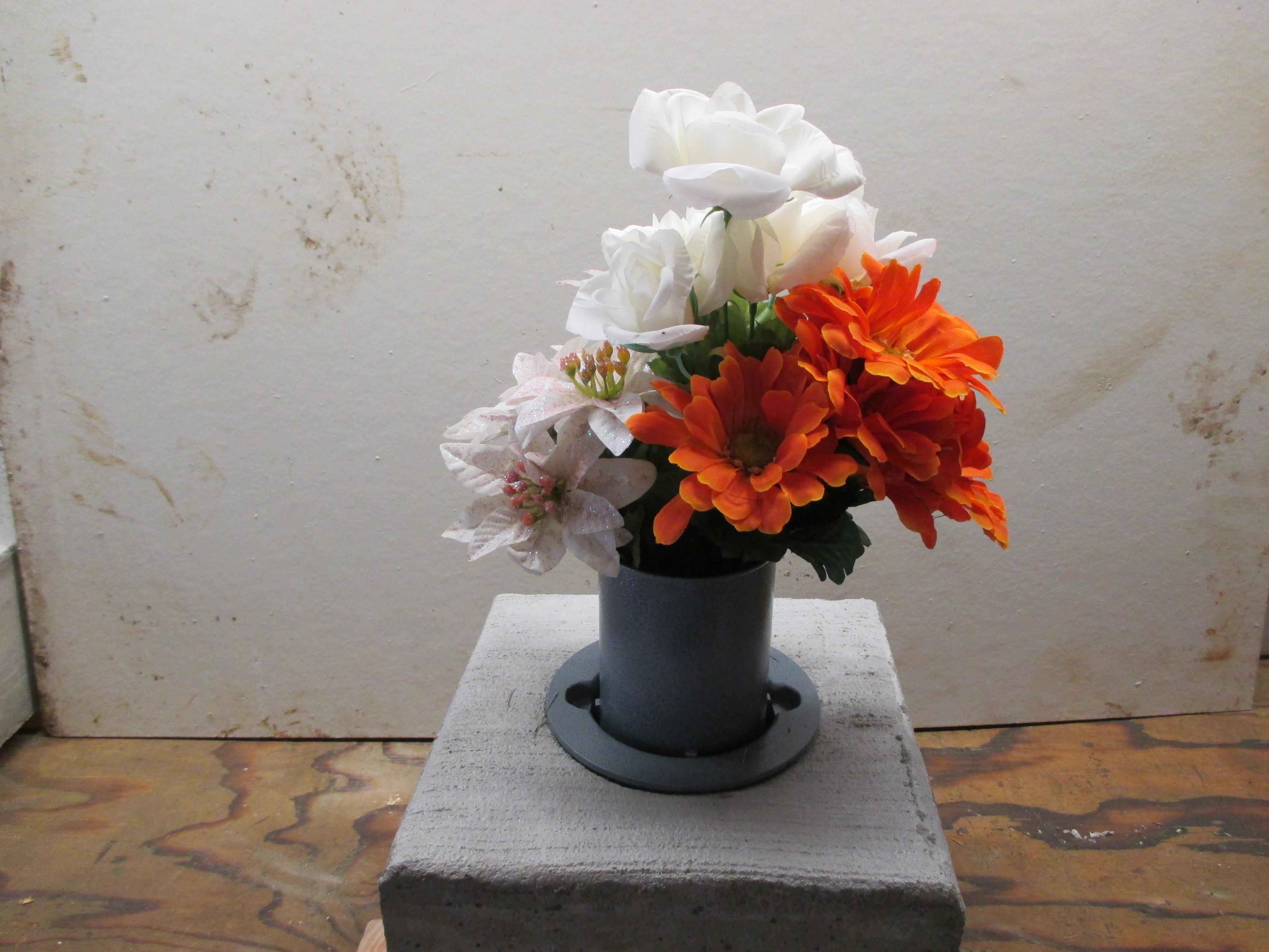 vases in ground cemetery flower luxury vase